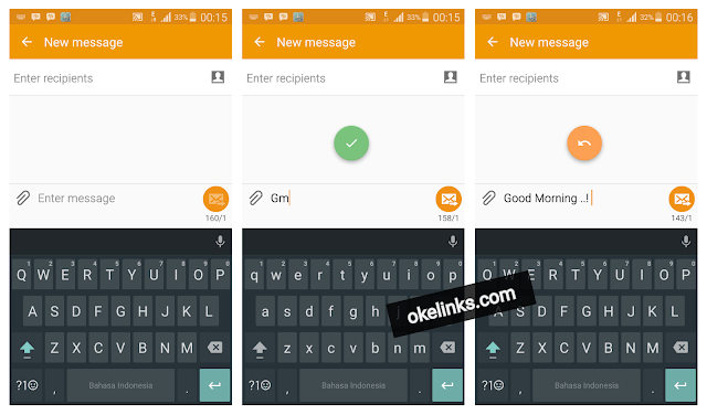 Aplikasi textpand android - cara membuat shorcut text