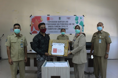 Dinas Kesehatan Lombok Barat Terima Bantuan APD untuk TBC