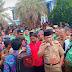Usai Jalan-jalan, Ratusan Kades Lampura Unjuk Rasa Tagih ADD ke Pemkab