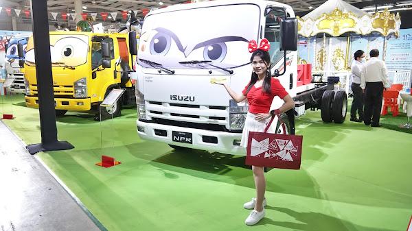 2021商業車博覽會 台中國際展覽館展出四天