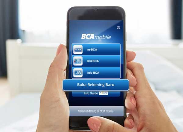 Promo Cashback Buka Rekening BCA di BCA Mobile