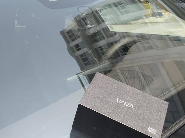 VAVA Dash 4K trên Mercedes GLC