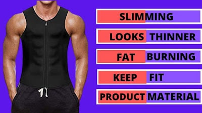 Wonderience men waist trainer shapewear