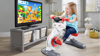 Fisher-Price Think & Learn Smart Cycle, Fisher-Price Think and Learn Smart Cycle toy, exercise bike for kids