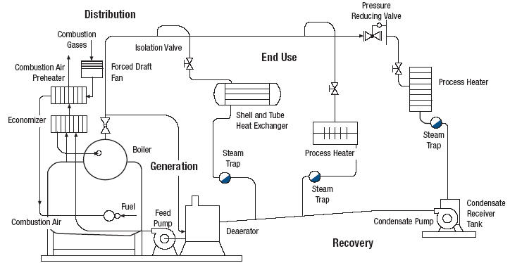 Boiler System: Low Pressure Steam Boiler System