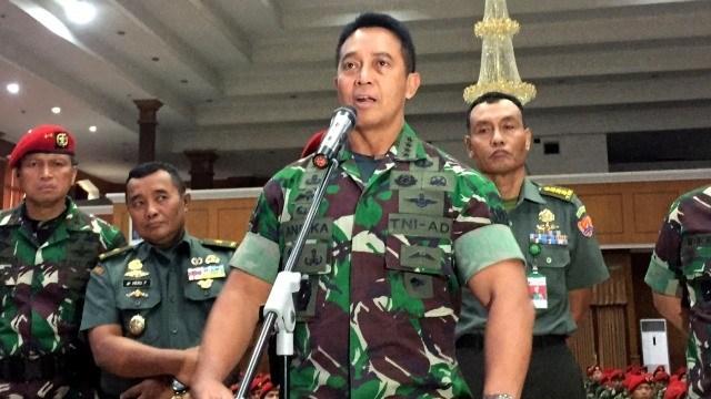 Jenderal Andika murka pensiunan TNI dibunuh, utus 150 tentara buru Ali Kalora