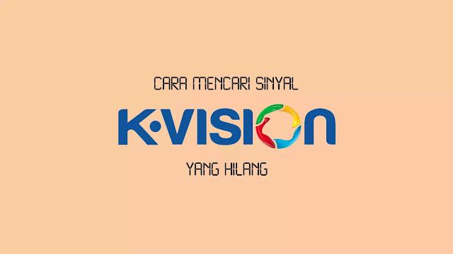 cara mencari sinyal parabola k vision