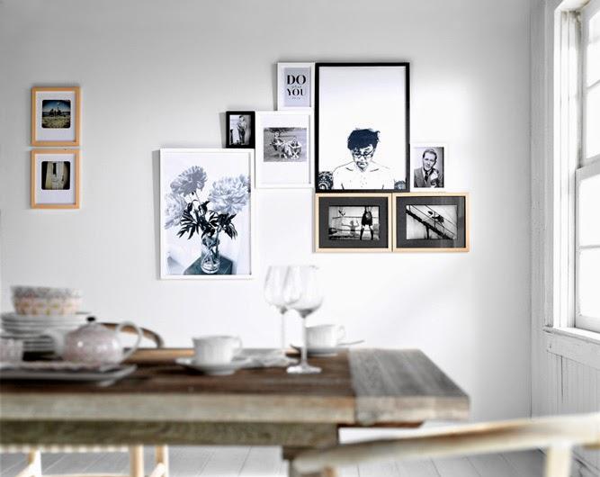 Decotips] Guía para colgar y crear composiciones decorativas con ...