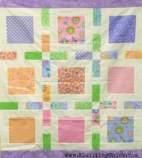 A Quilting Chick - Framed