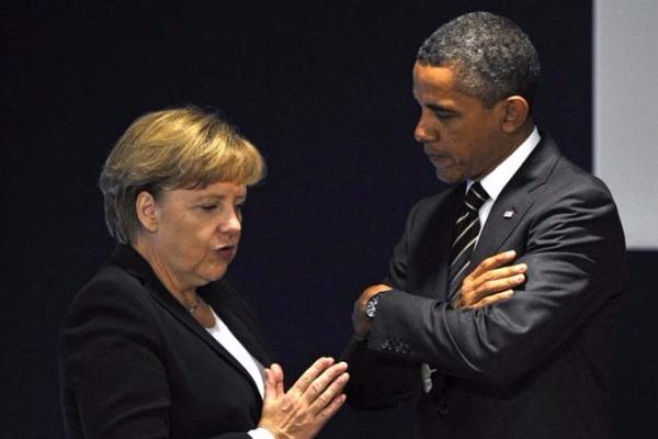 Ο Ομπάμα, η Μέρκελ, ο Σόρος και η Ελλάδα