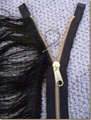 cremalleras, reciclaje, collar, bisuteria, zipper, diys,
