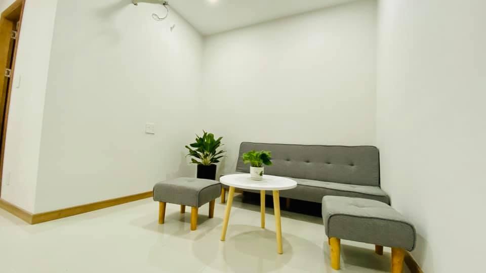 phòng khách Bcons Suối Tiên 1 phòng ngủ