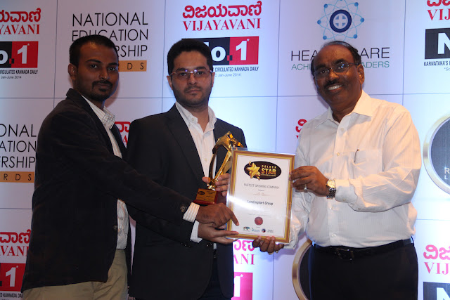 Lendingkart Group felicitated at the Golden Star Six Sigma Awards in the 'Fastest Growing Company' category