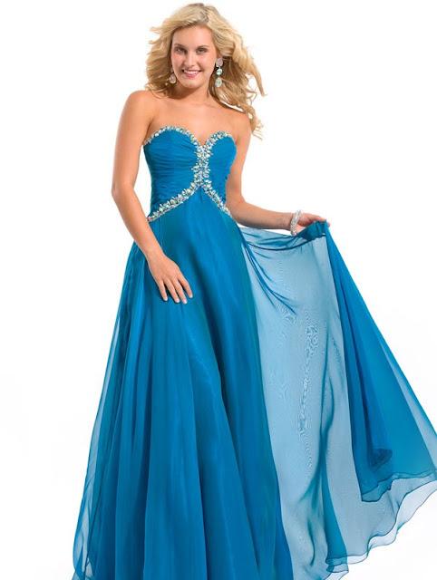 Long Chiffon Dress