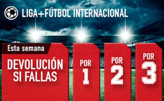 sportium Fútbol: Combinadas 'con seguro' 4-10 junio