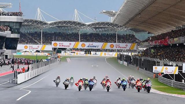 Sirkuit Sepang, Malaysia  - MotoGP