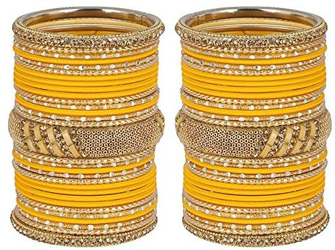 MUCH MORE Amazing Bangle Set with Designer Kada Jewellery for Women's