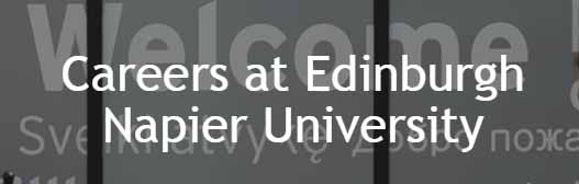 Jobs in Edinburgh Napier University