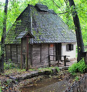 Tršić, alte Wassermühle