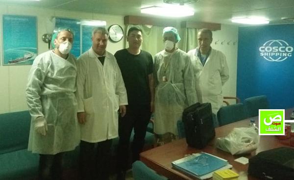 """إجراءات إحترازية  ضد """"فيروس كورونا""""  بمطار الشلف وميناء تنس"""