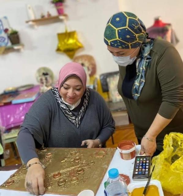 """""""إنجي بدوي"""" فنانة مصرية متعددة المواهب"""