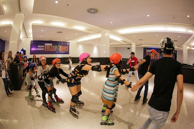 Roller Dance no RioMar Recife