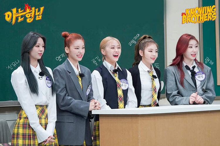 Nonton streaming online & download Knowing Bros eps 278 bintang tamu ITZY subtitle bahasa Indonesia