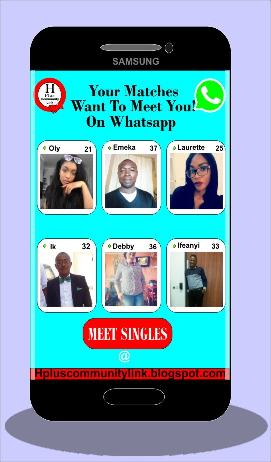 Join H Plus Singles Dating Whatsapp Group