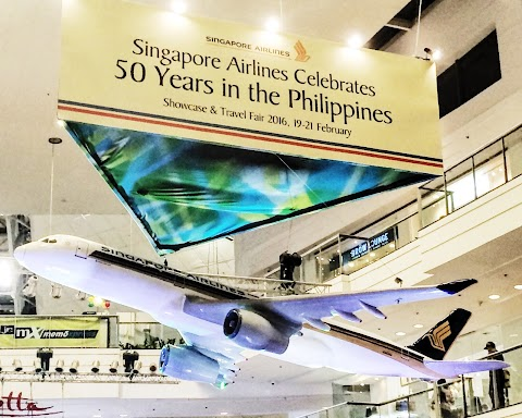 Singapore Airlines Launches 50th Anniversary Kick-Off Event