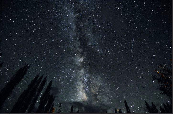 Night sky at nubra