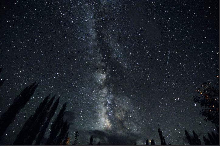 Night sky at nubra