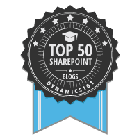 Top 50 SharePoint Blogs
