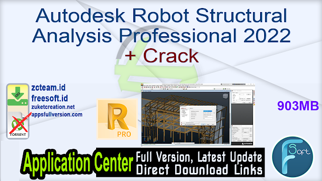 Autodesk Robot Structural Analysis Professional 2022 + Crack_ ZcTeam.id