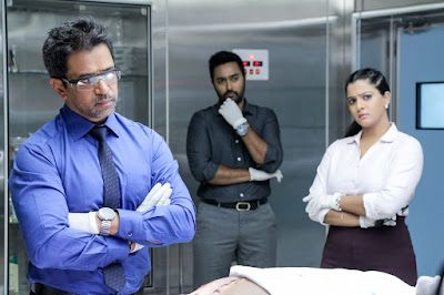 Nibunan new Tamil Movie includes Arjun,Varalakshmi Sarath Kumar and Prasana in the lead