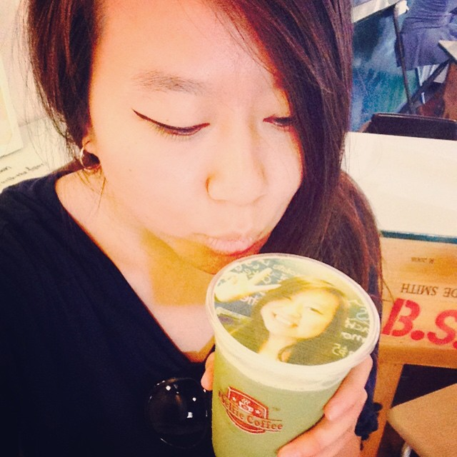 Pick Me Up Tea House in Garden Grove Lets You Drink Your Own Picture!