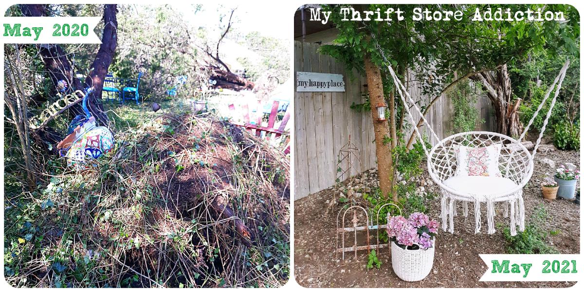 storm damage garden update