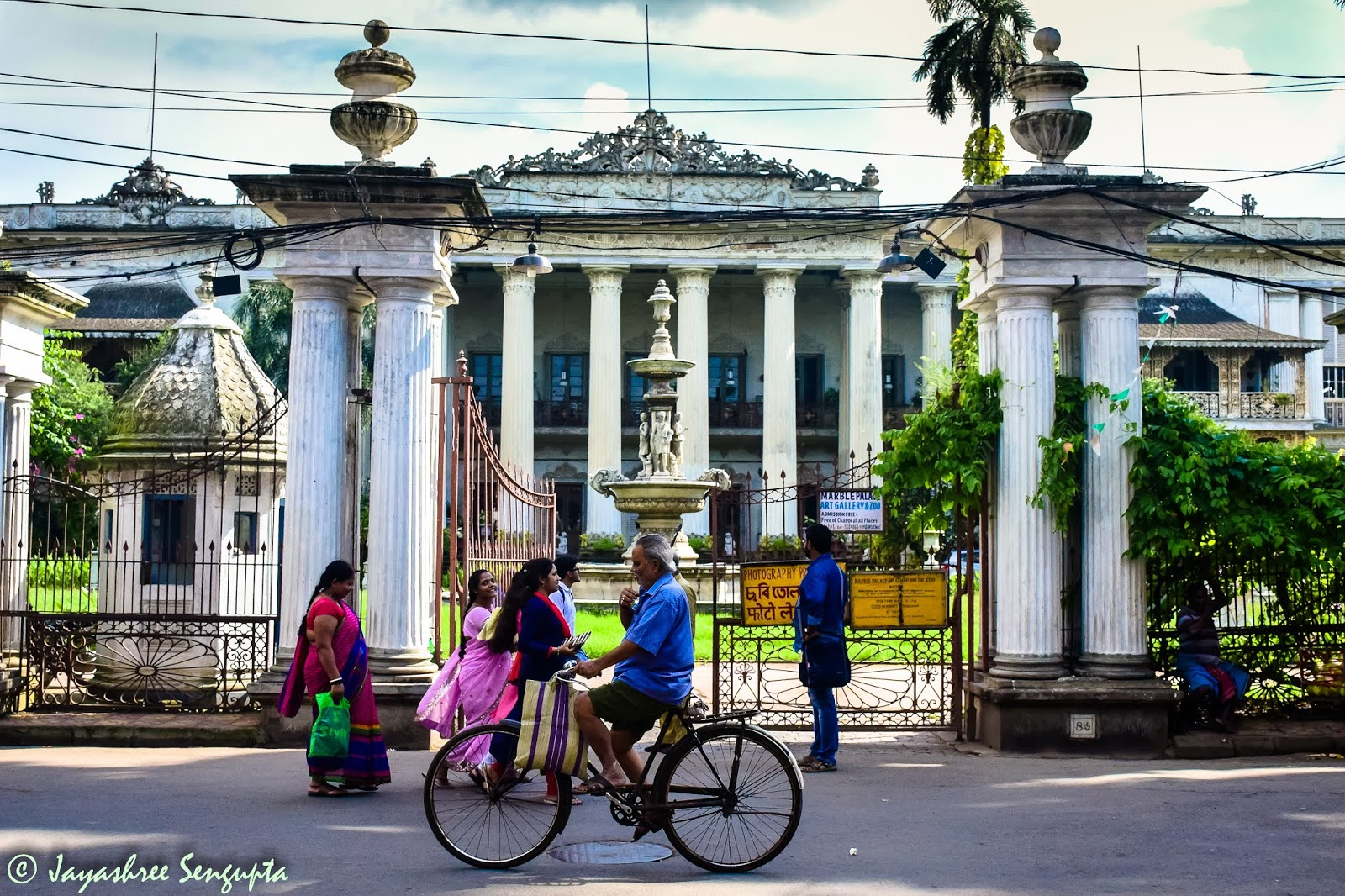 The Marble Palace of Kolkata