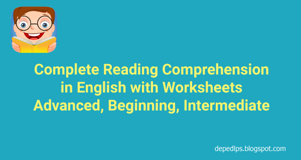 Complete Reading Comprehension in English - DepEd LP\'s