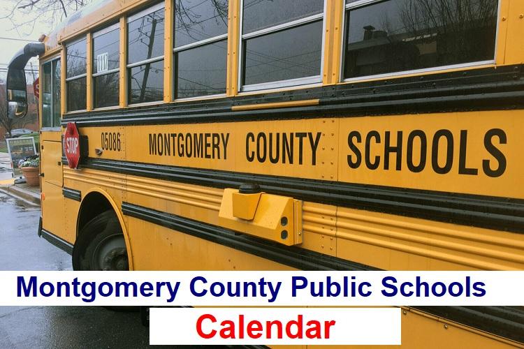 Montgomery County Public Schools Calendar