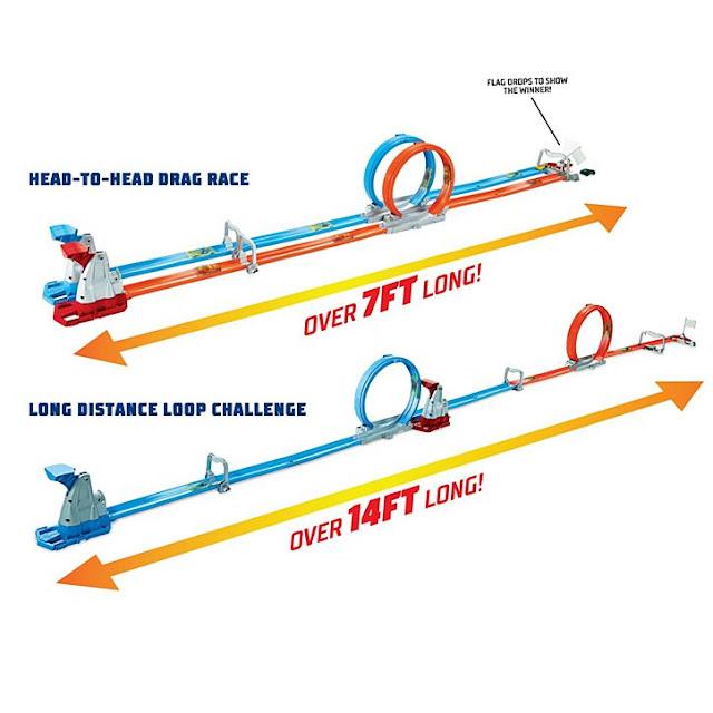 Bộ xe hot wheels Double Loop Dash 2
