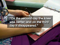funny sentences on hospital charts
