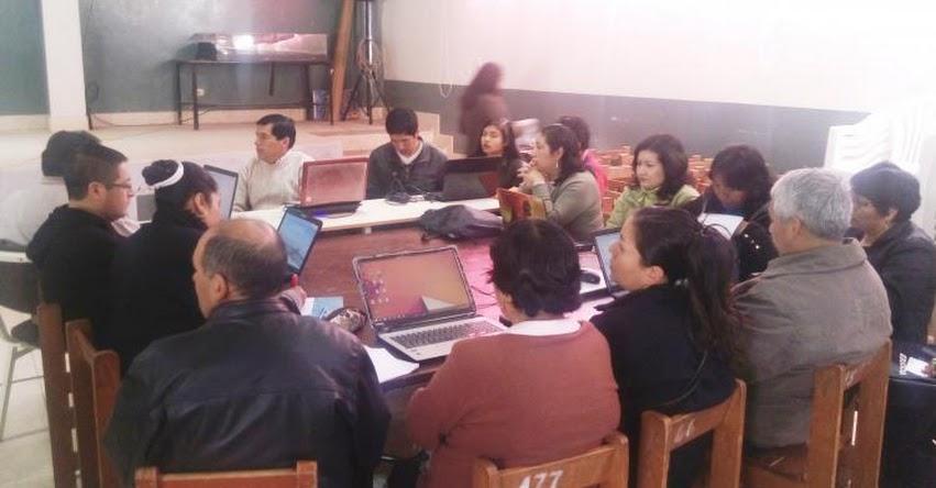 Taller para docentes de primaria efectuará la UGEL Santiago de Chuco - www.ugelsantiagodechuco.gob.pe