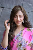 Angela Krislinzki Rogue Movie Fame Telugu Actress in Saree Backless Choli 121.JPG