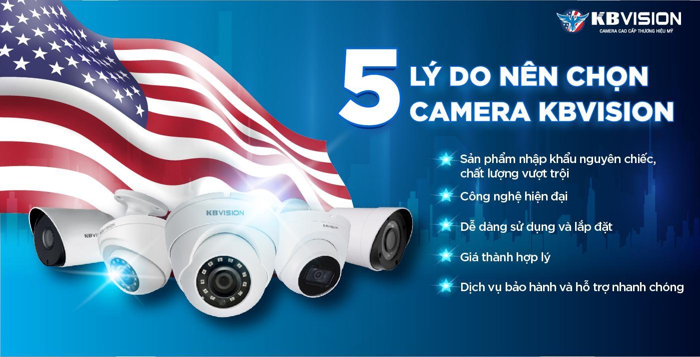Vì sao chọn lắp camera kbvision ở bến tre