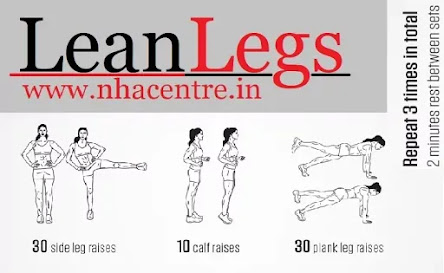 Leg workouts that can be done at Home