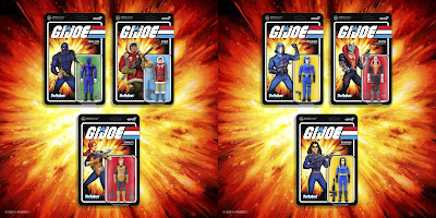 G.I. Joe: A Real American Hero ReAction Figures Series 1 by Super7