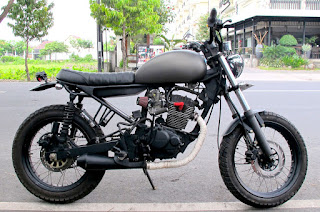 Cara modifikasi japstyle motor Tiger
