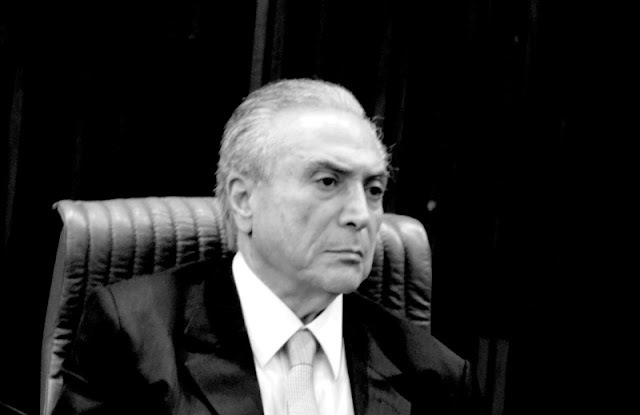 Presidente interino Michel Temer Foto Joaquim Dantas