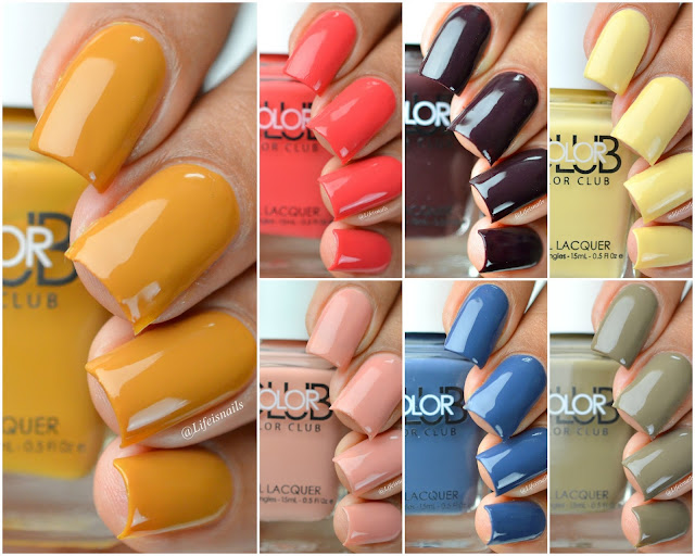 Color Club Cabin Fever Collection