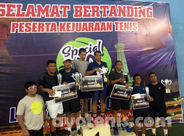 Sulistyo Wibowo/Sabar Prayitno Kampiun Lembah Tenis Cup